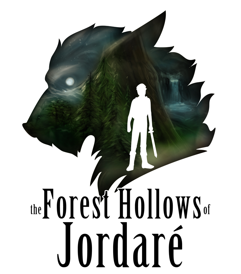 <B>the Forest Hollows of Jordar�</B><BR />Book cover.