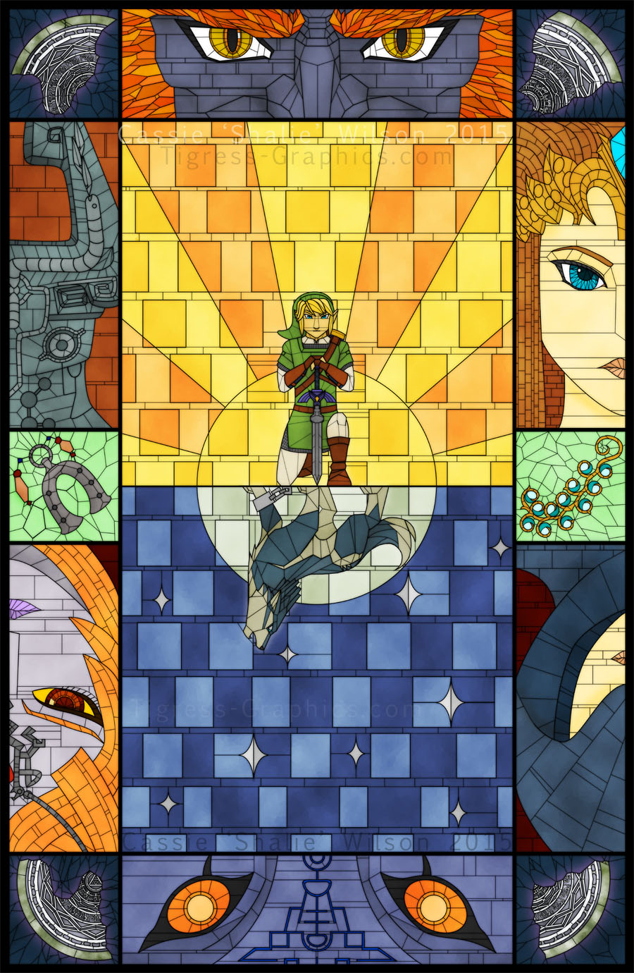 <B>Twilight Princess � Stained Glass</B><BR />